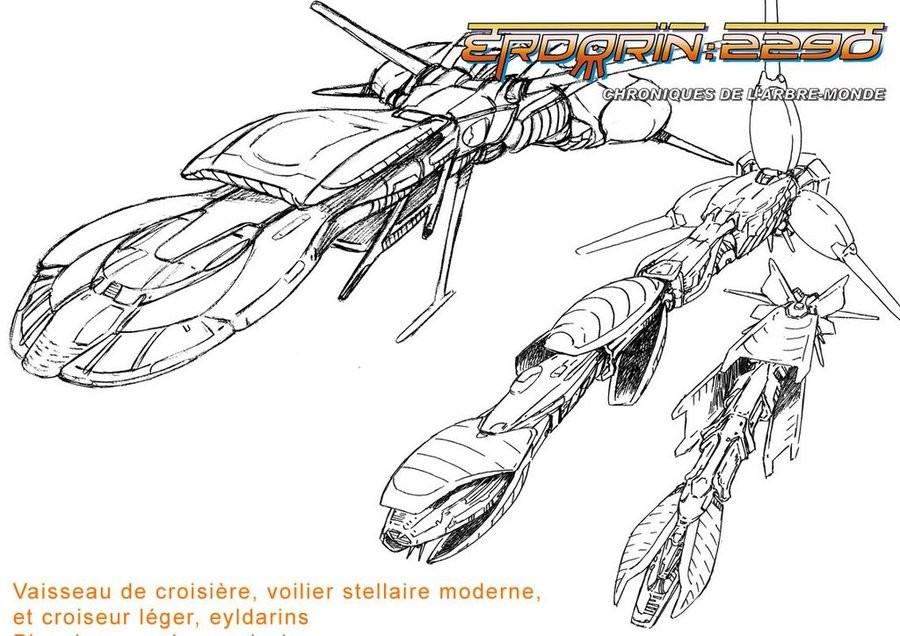 eyldarin spaceships