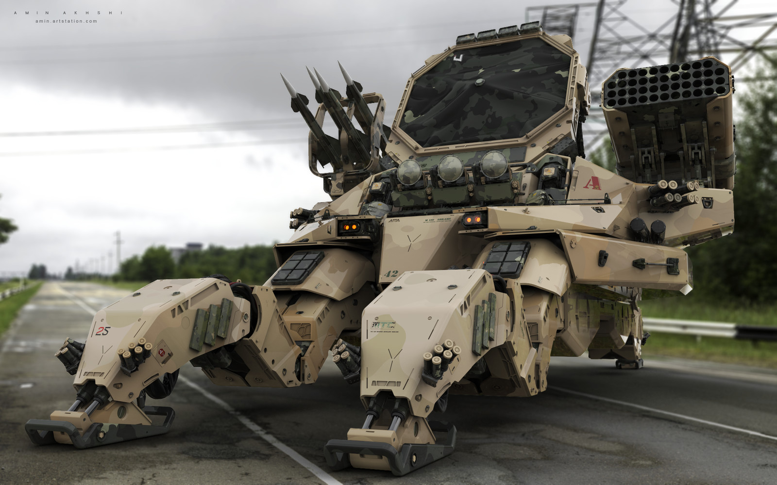 M130 Abrams, 108th Air Defense Artillery Brigade