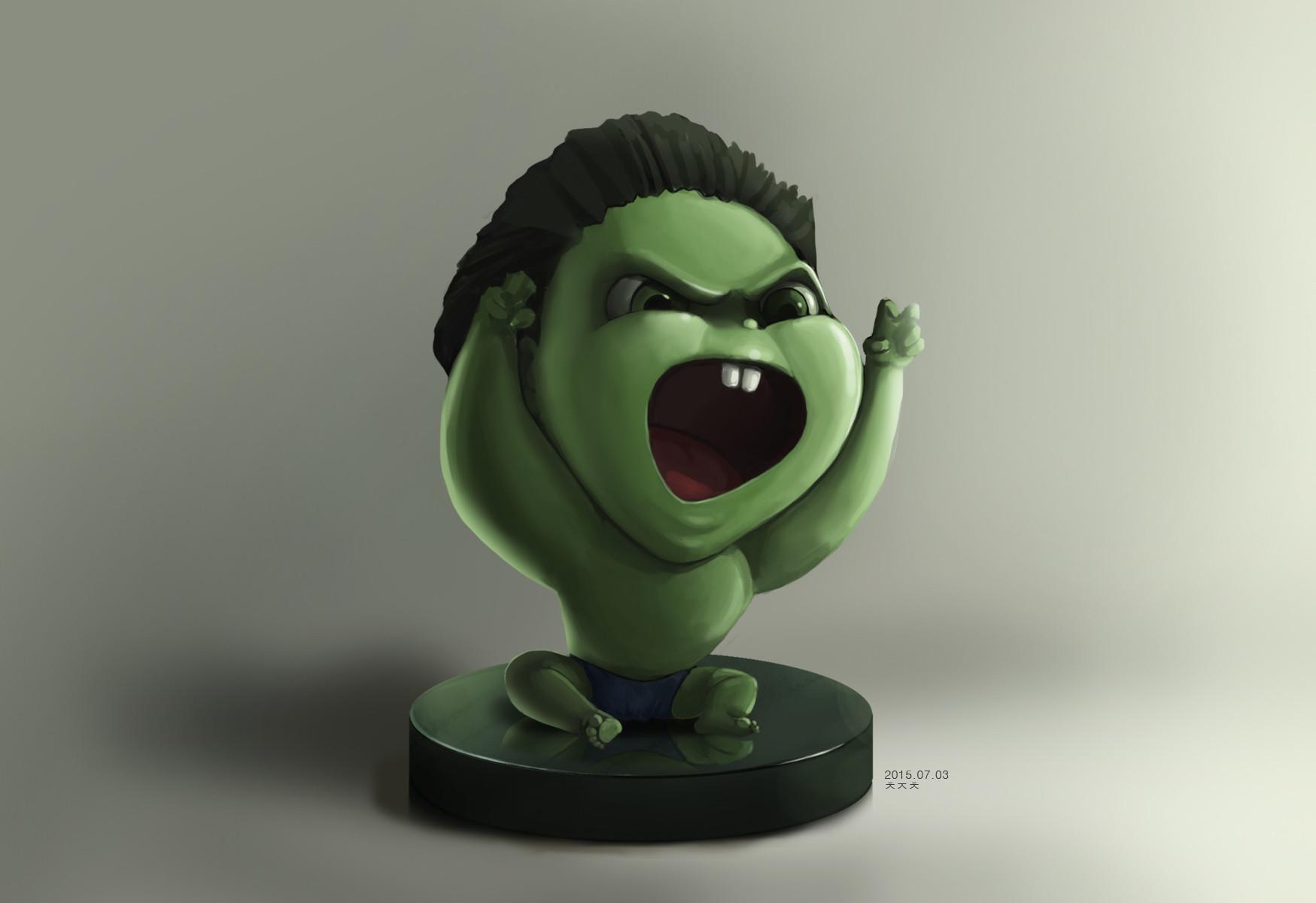 Artstation Baby Hulk Ji Chang Choi