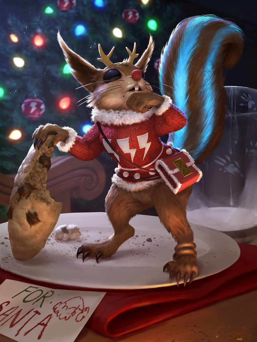 Devin platts ratatoskr festive card