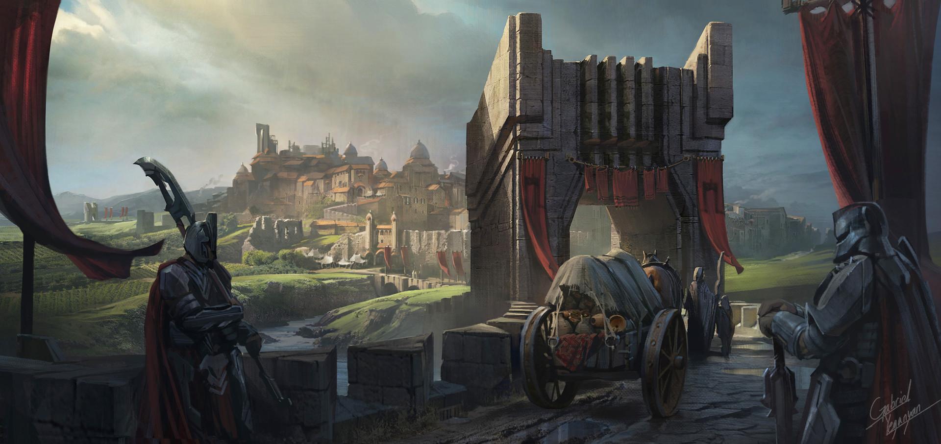 Gabriel yeganyan noxus town gate