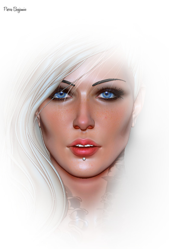 Pierre benjamin test woman render 008