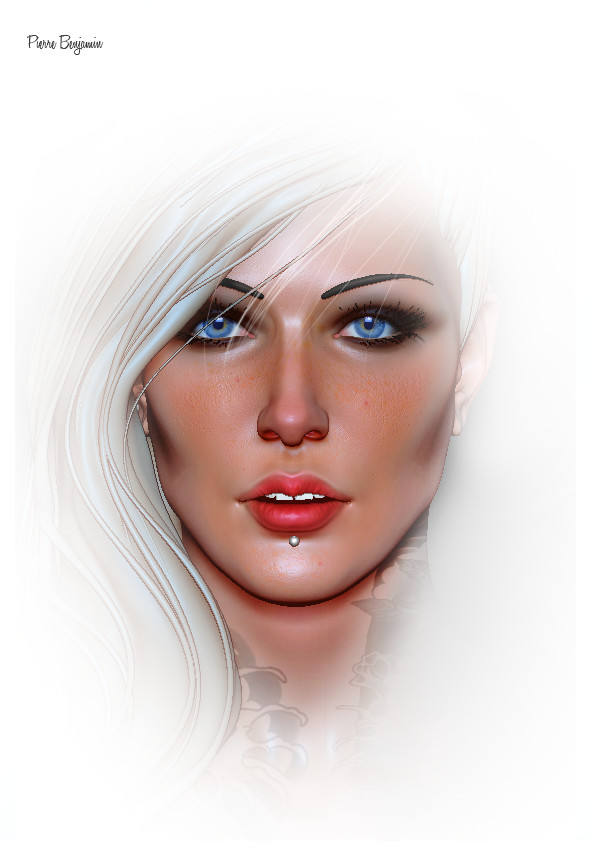 Pierre benjamin test woman render 011