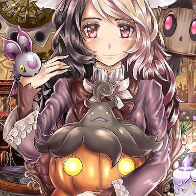 Giovanni zaccaria pokemon halloween variante 300dpi