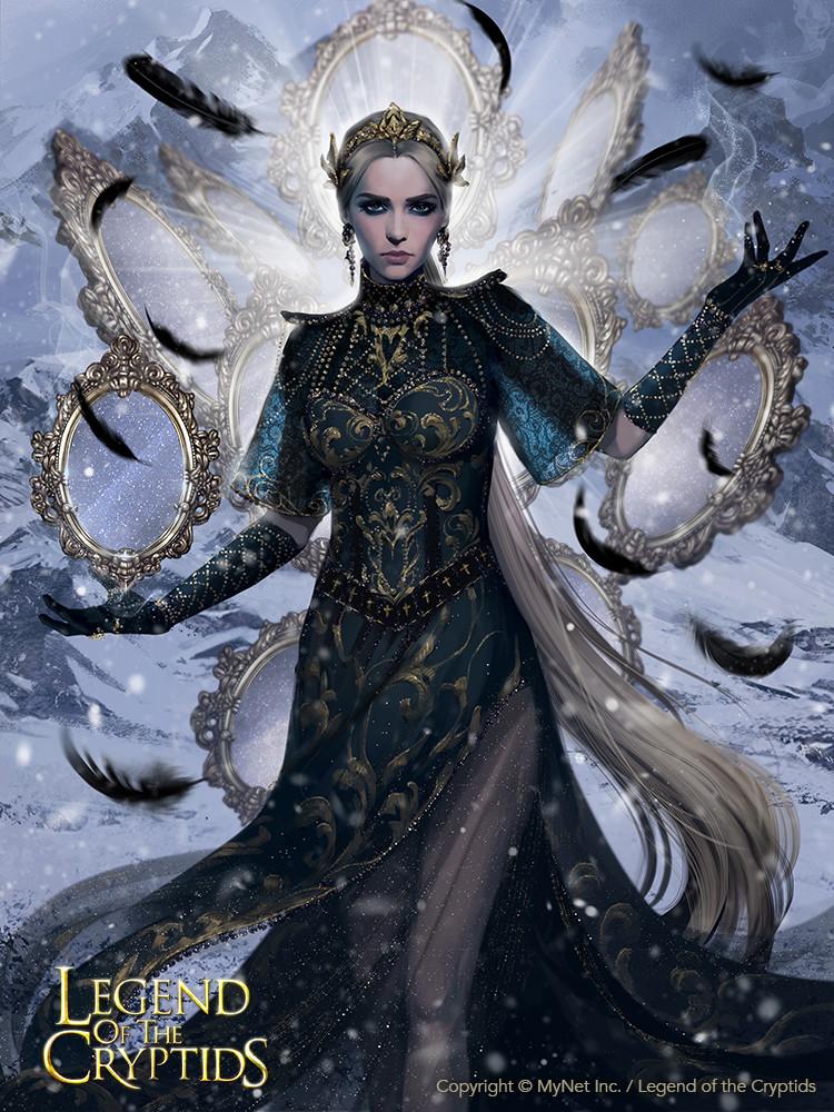 Artstation Vengeful Mirror Princess Adv Svetlana Tigai