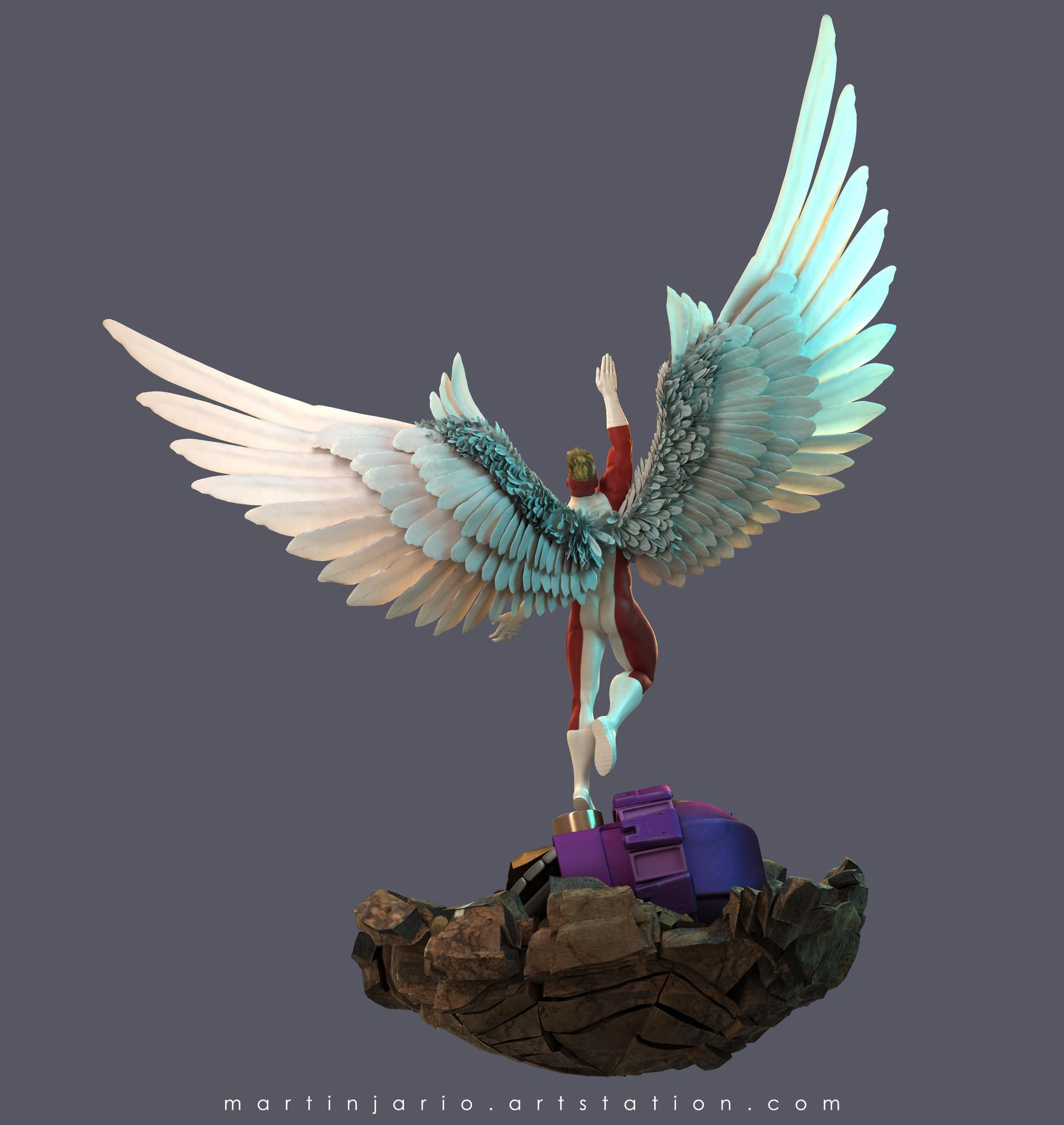 Martin jario martinjario angel artstation 01