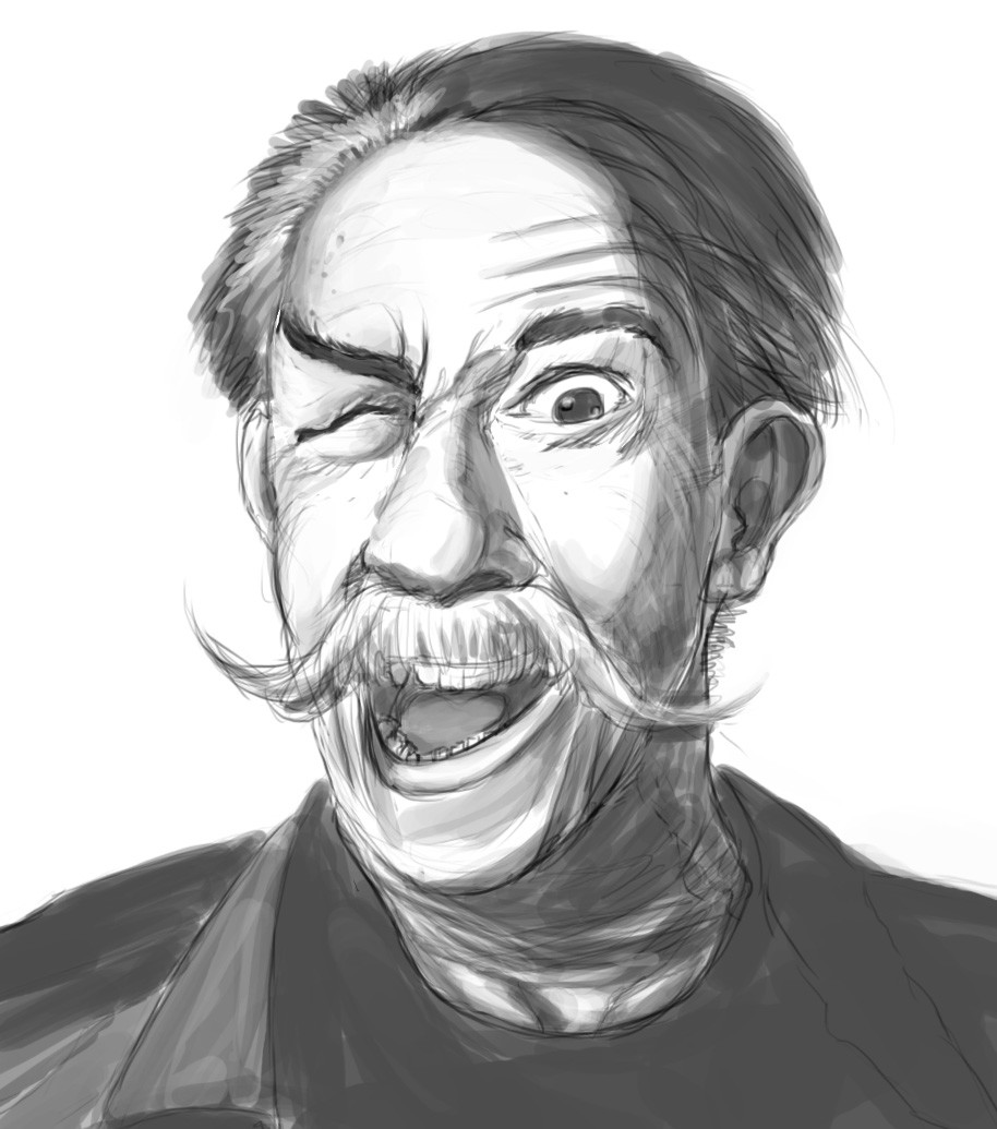 Couleurs variées ec1a6 1773b ArtStation - Old crazy man, bend art