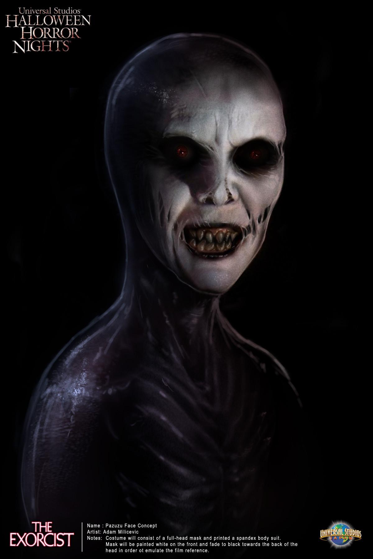 Adam milicevic pazuzu concept face