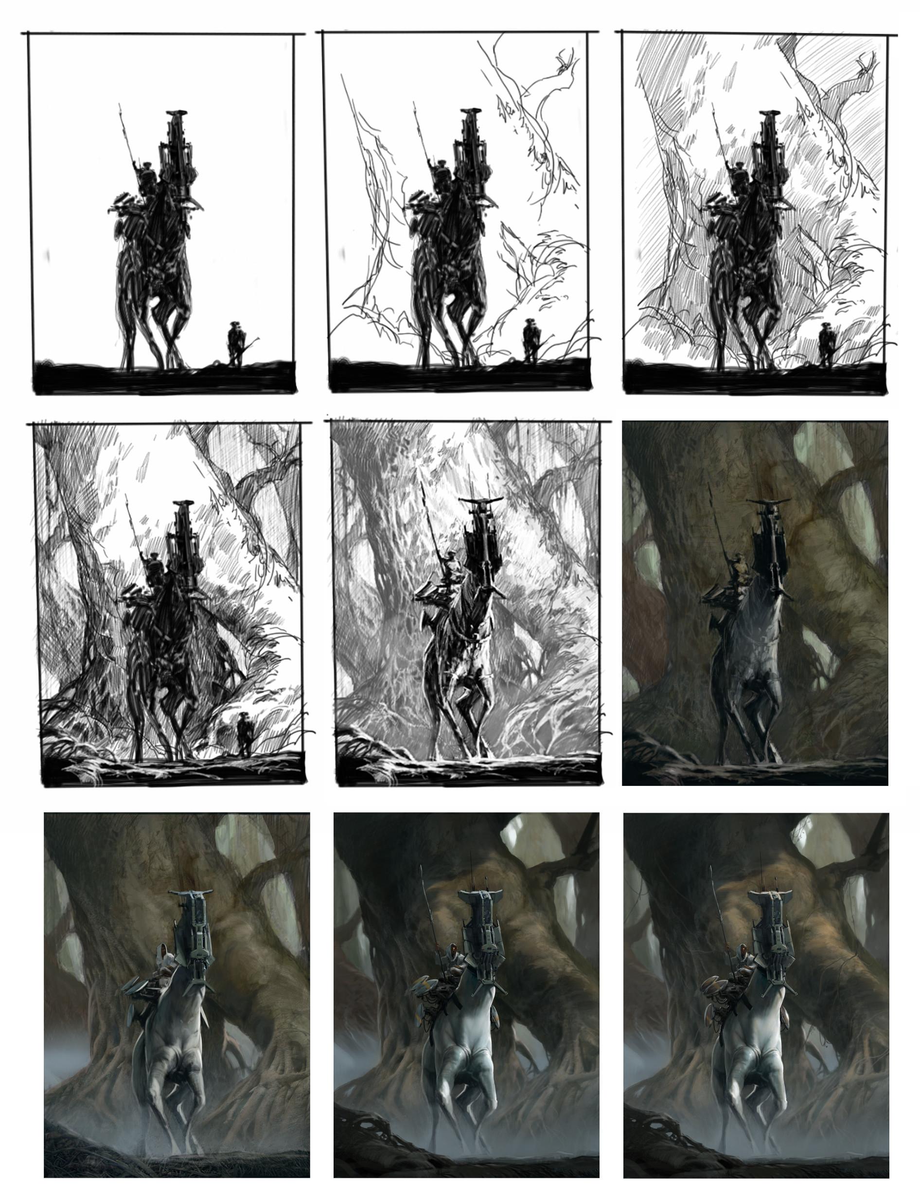 Martin deschambault project77 giant mangrove wip