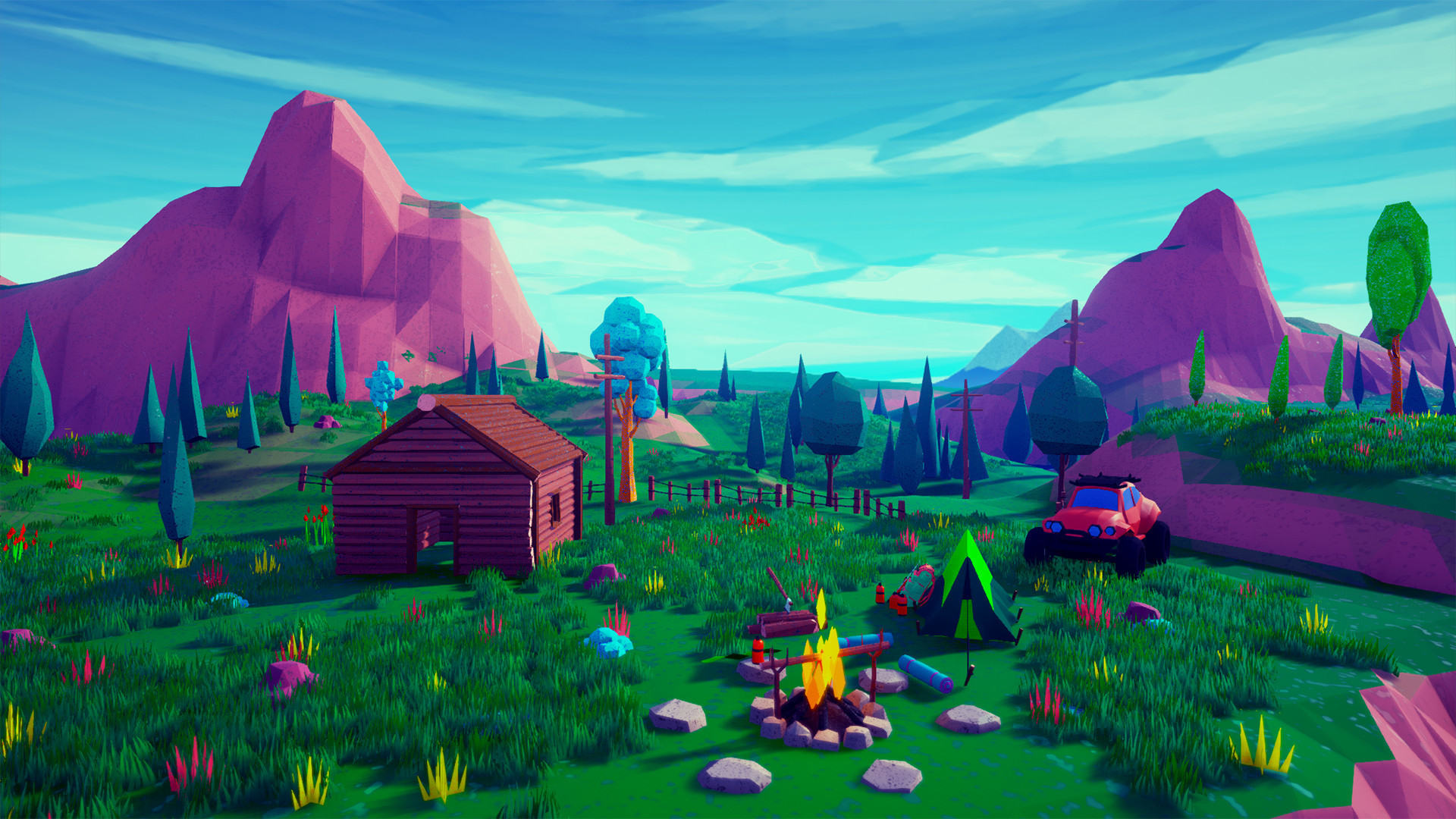 ArtStation - Lowpoly Stylized Project / Unreal Engine, Emek