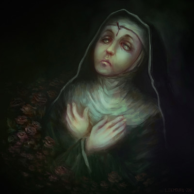 Leonardo de moura stigmata rita of cascia medium