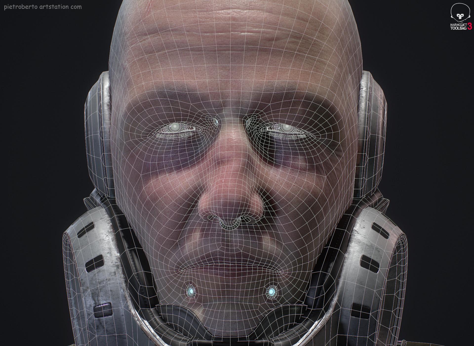 Pietro berto hex wire