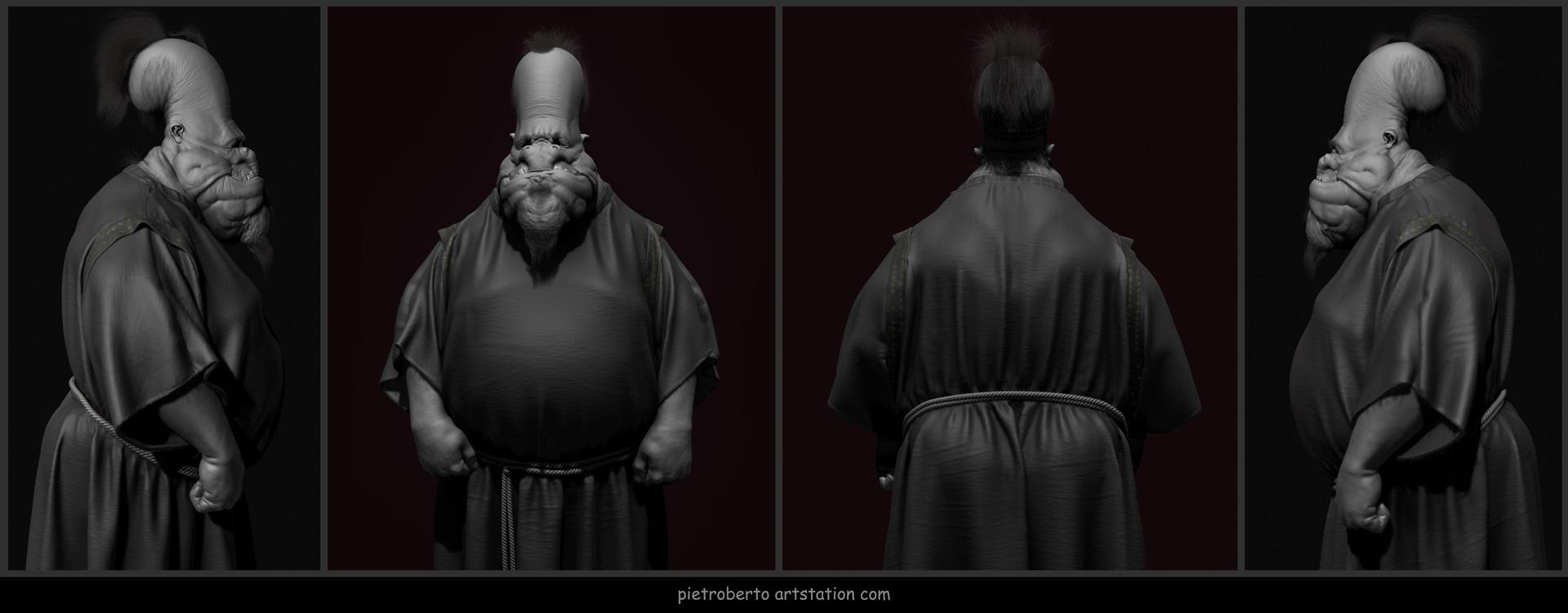 Pietro berto clothed mid