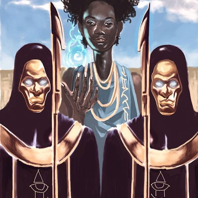 Afromation art priestess nubia2