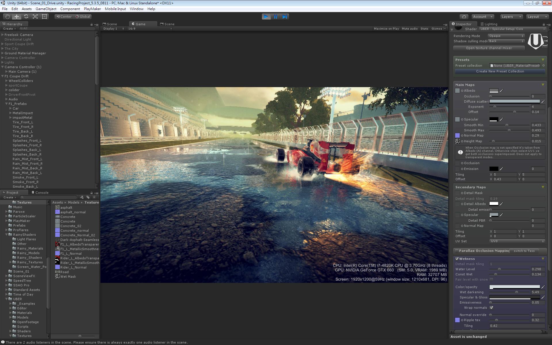 ArtStation - Unity 3D Project , Yiyu Huang