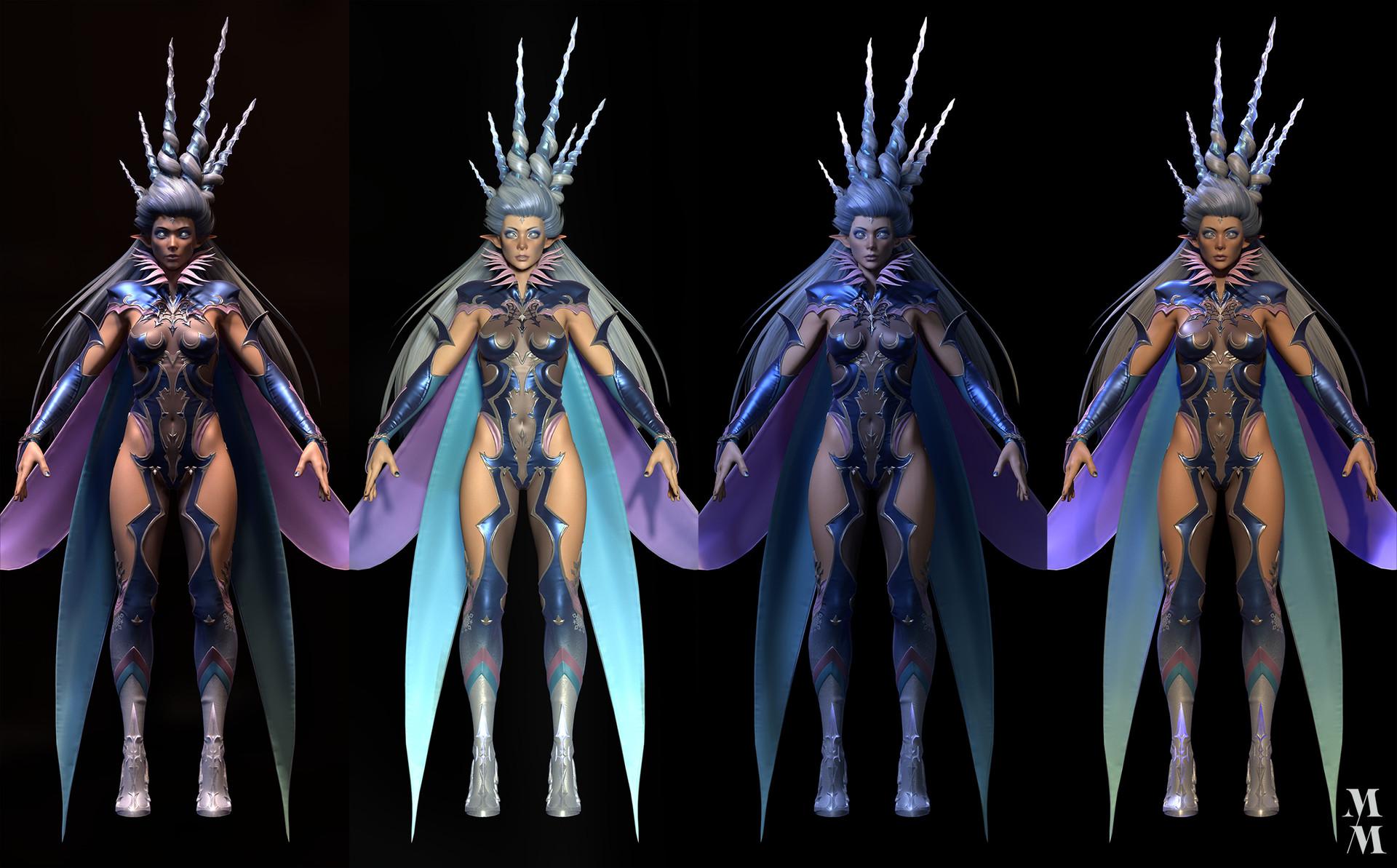ArtStation - Shiva Fan art from Final Fantasy XIV, Game