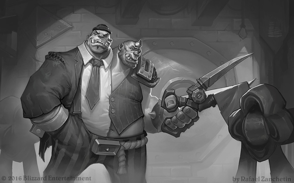 Gadgetzan Gazette Illustrations