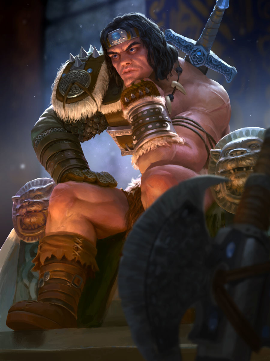 Devin platts thor barbarian card