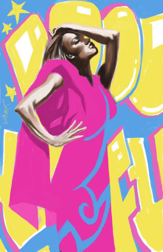 Afromation art fashion funk