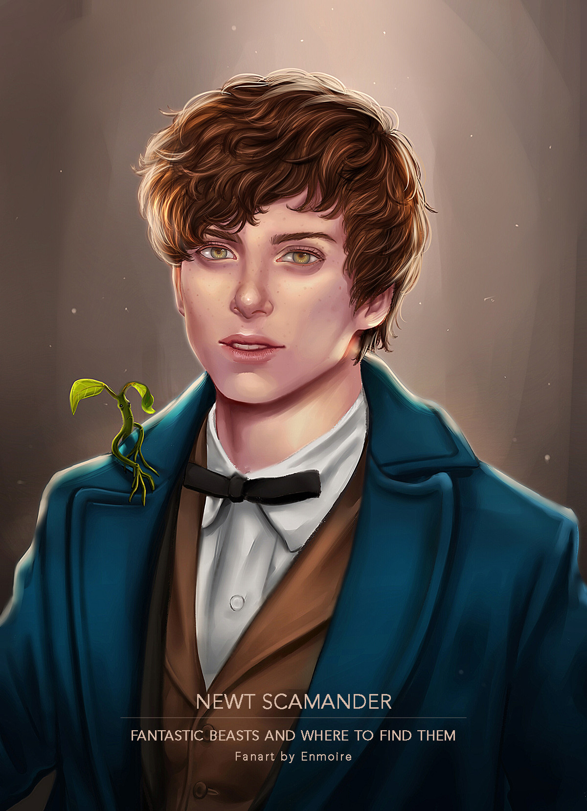 Nathania h enmoire newt scamander