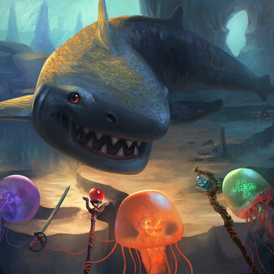 Efraim ninsiima jellyfish party v2 by efraim ninsiima