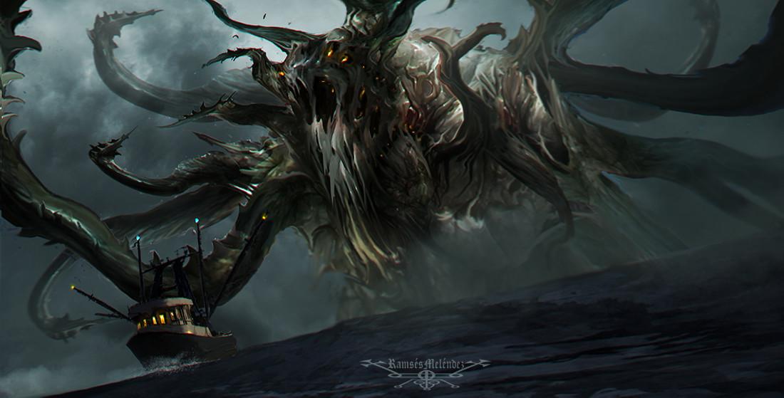 artstation leviathan ramses melendez