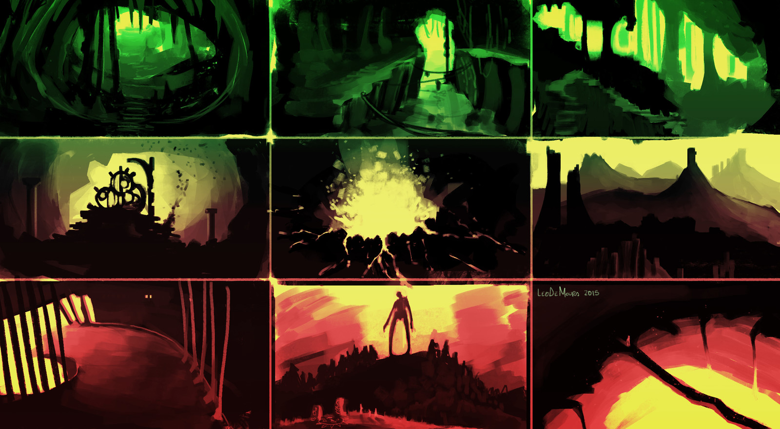 Environments Thumbnails Study