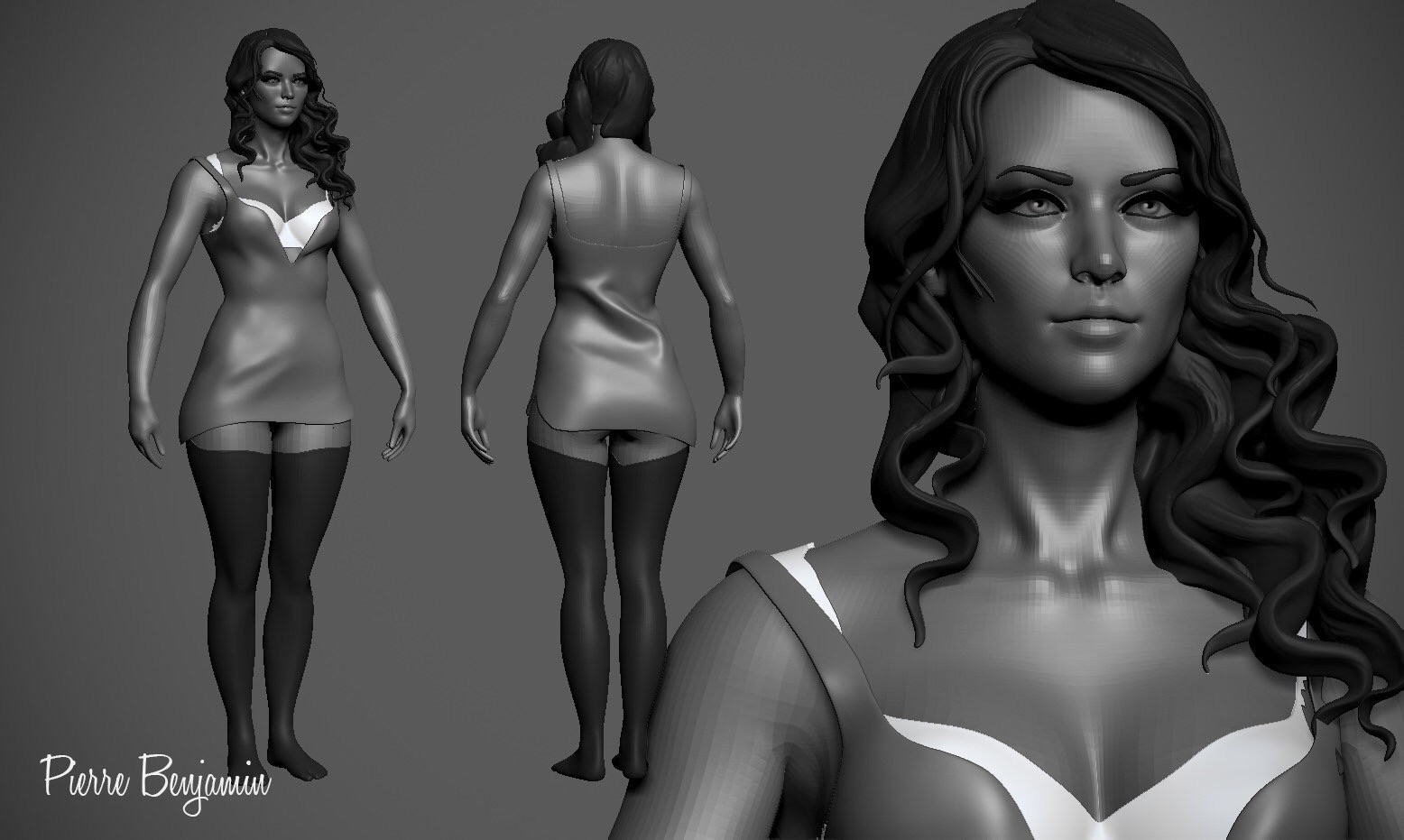 woman speed sculpt