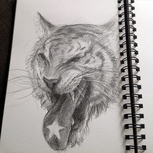 Scott altmann tigertonguesketch