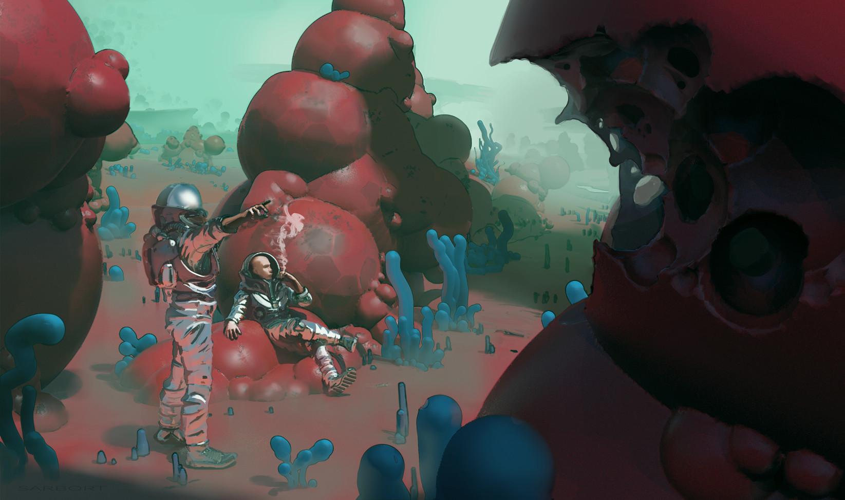 Bubble planet
