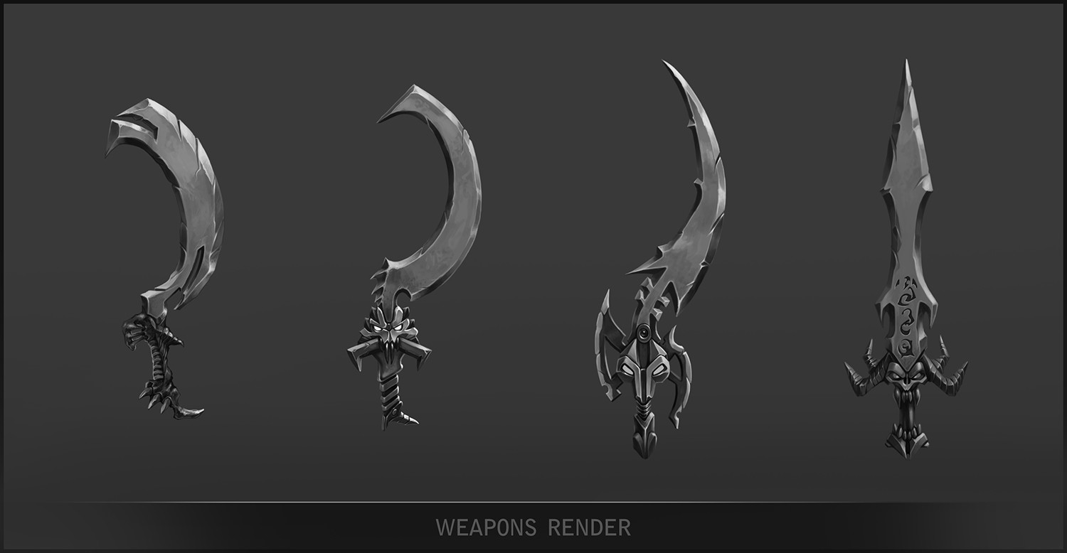 Peter rocque weapons render