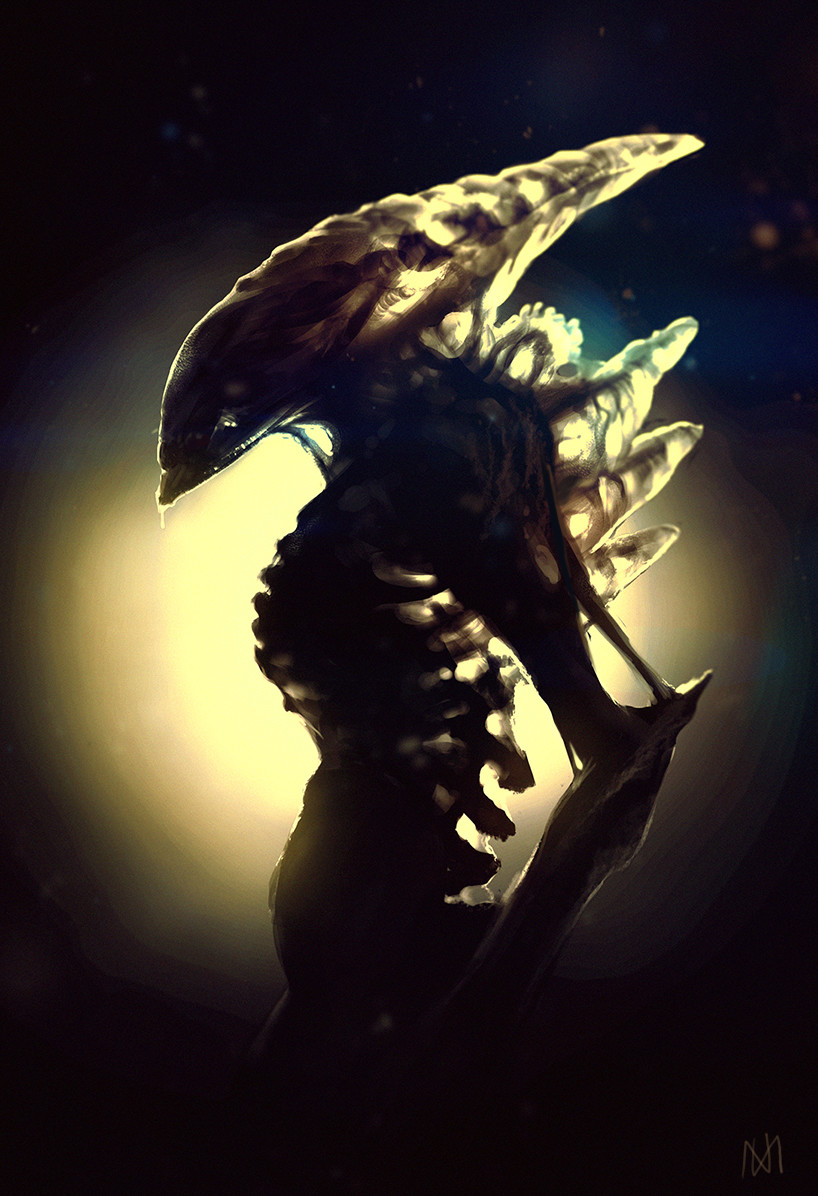 Nagy norbert alien by norbface d7vinub
