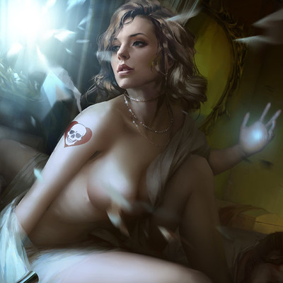 Grafit studio grafit studio mysterious beautiful woman 2