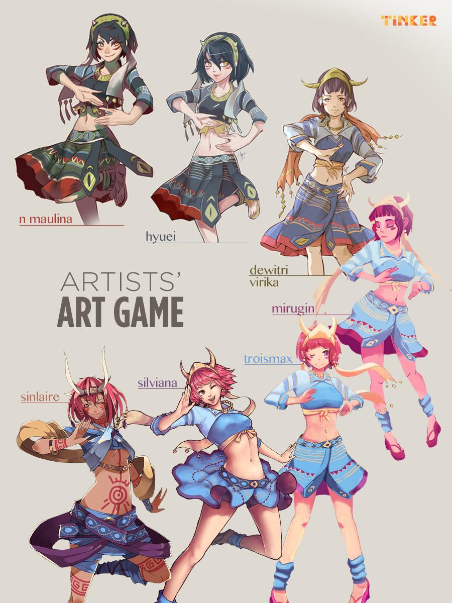 Ann maulina tinker s art game by n maulina d9ke11e