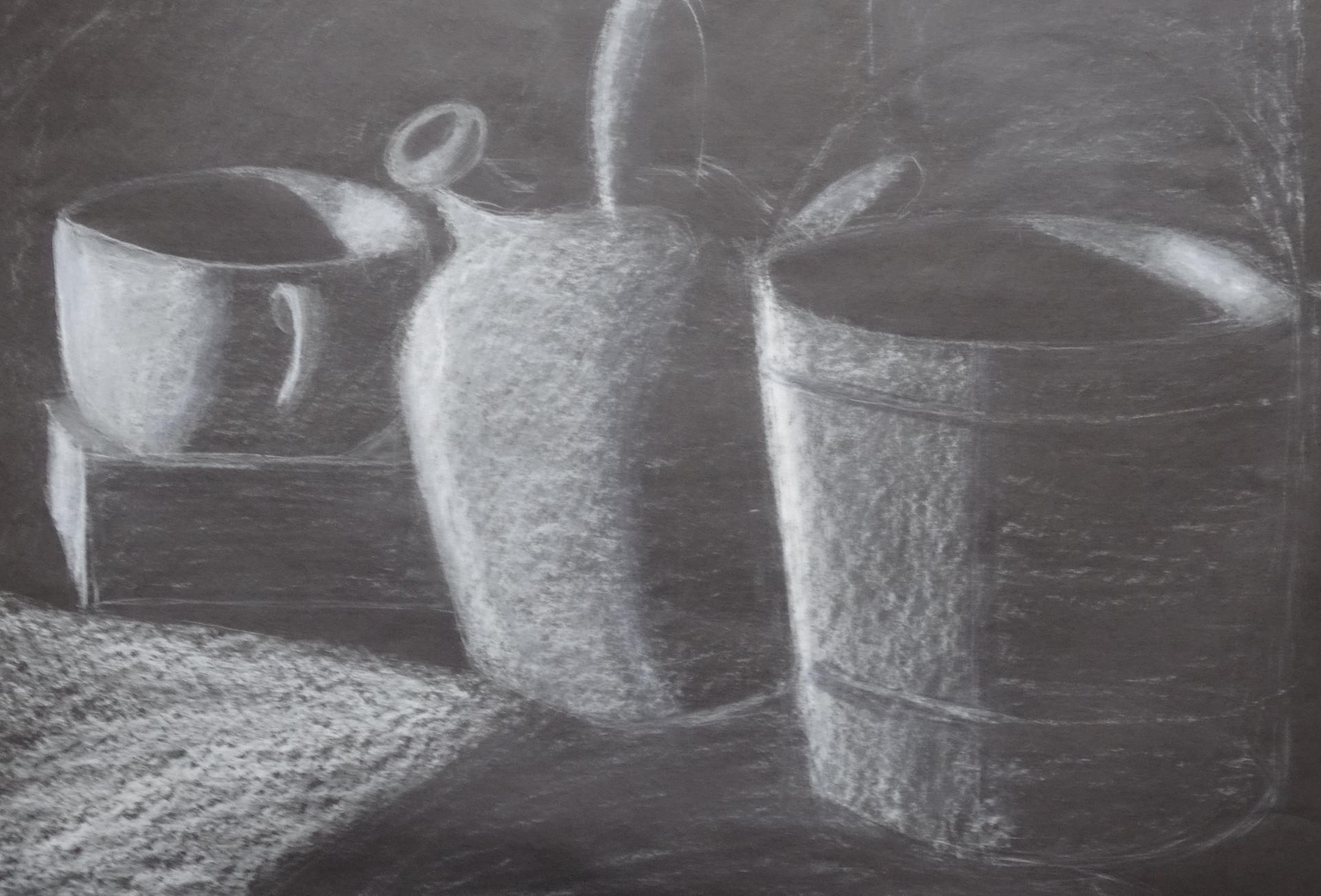 Ronald gardiner simple still life drawing