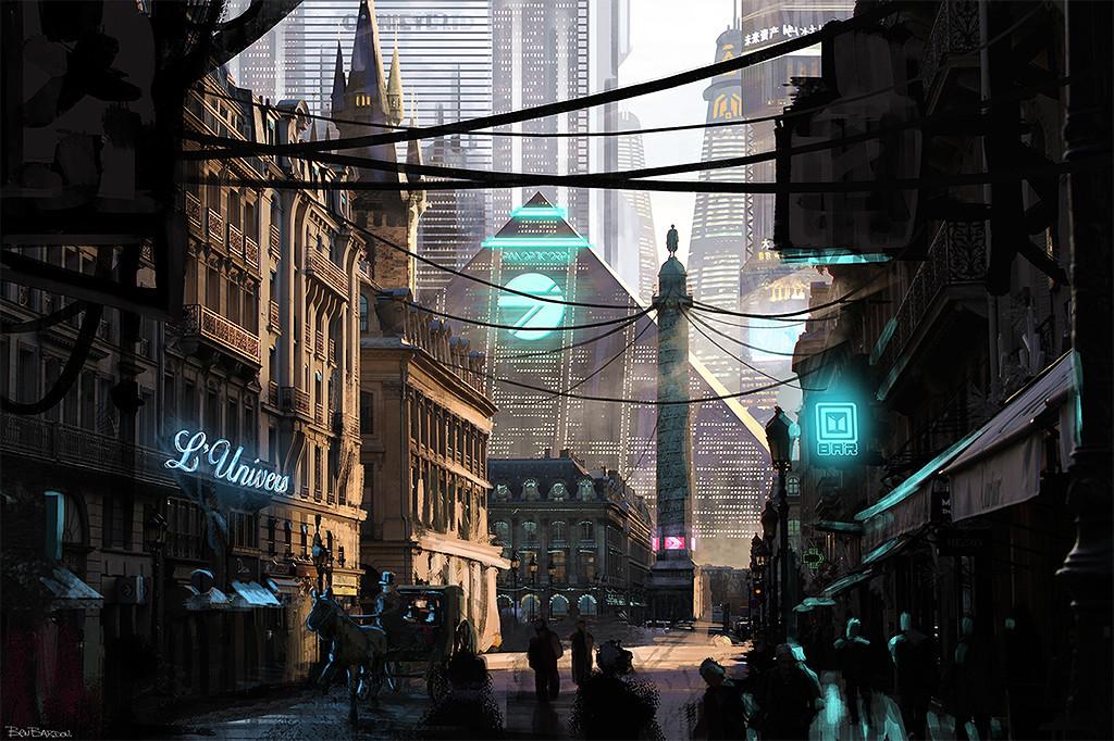 PARIS Megalopolis - Concept Art
