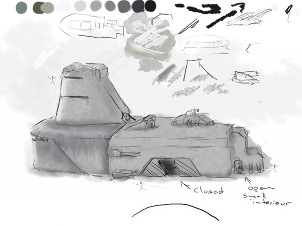 Sascha henrichs bunker concept 01