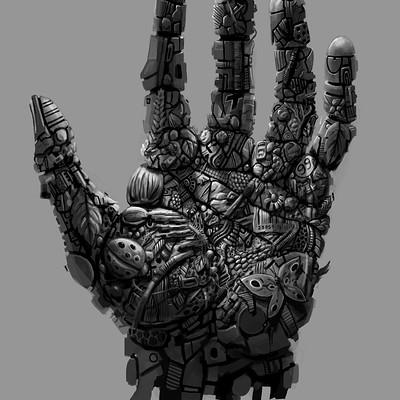 Christopher walker earthlings hand