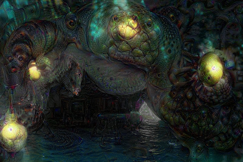 Jeremy roland snake deep dream