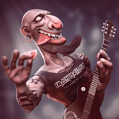 Carlos karurosu garcia rockero