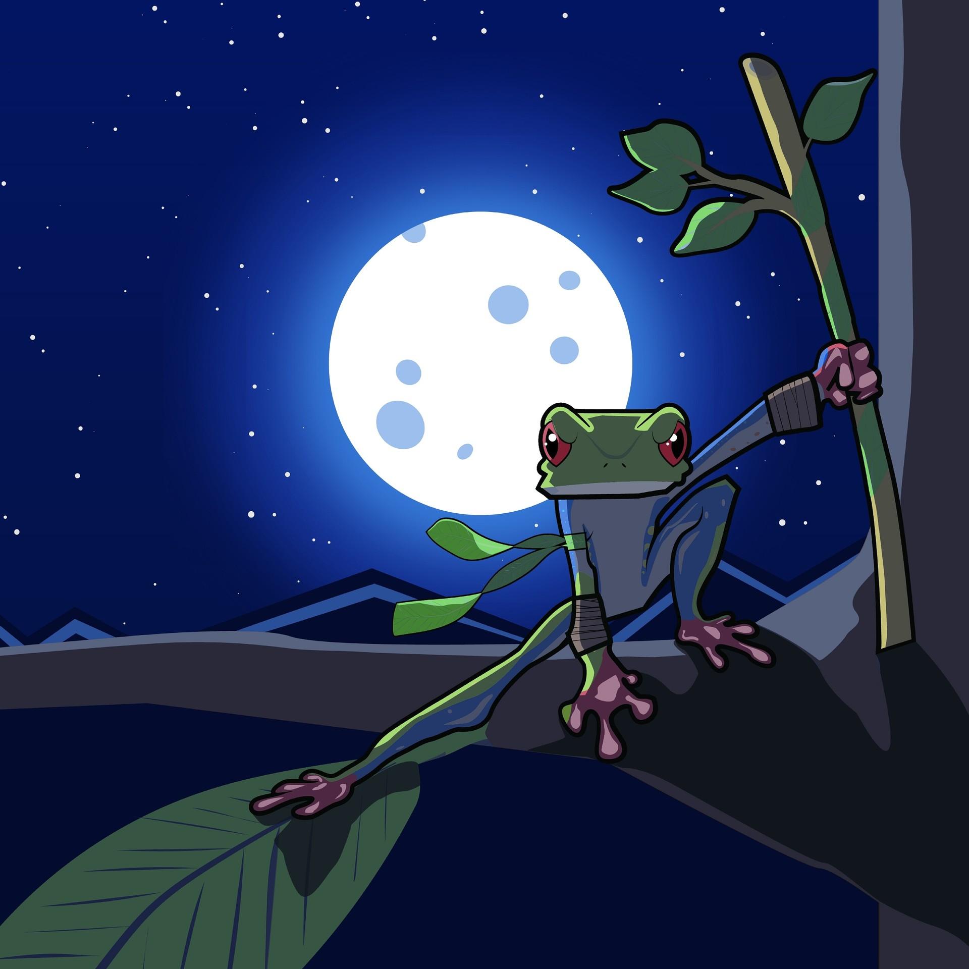 Artstation Ninja Frog Samuel Pagan