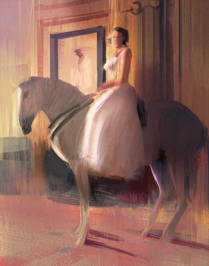 Hugo puzzuoli girl horse