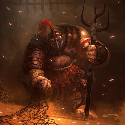 Ludovic ribardiere gladiator01