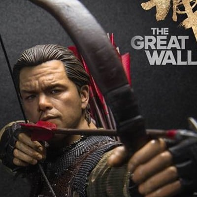 The Great Wall - William Garin - 1/6th Collectible Premium Statue - Mtime