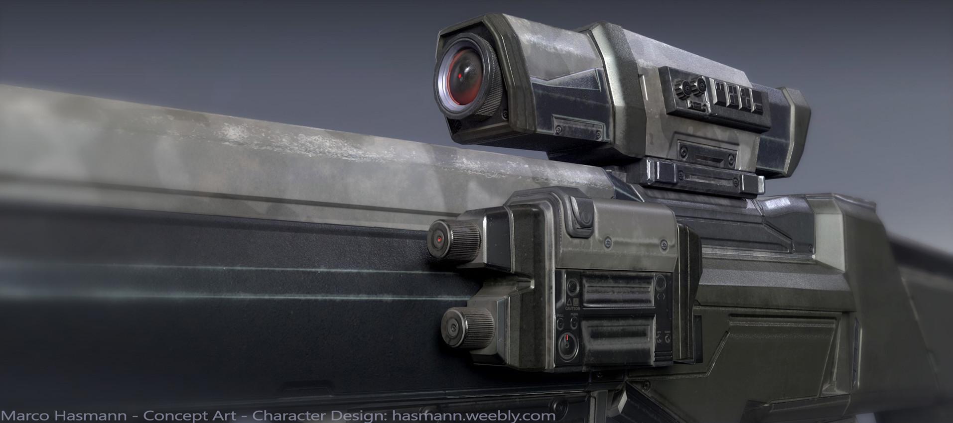 Marco hasmann sniper detail