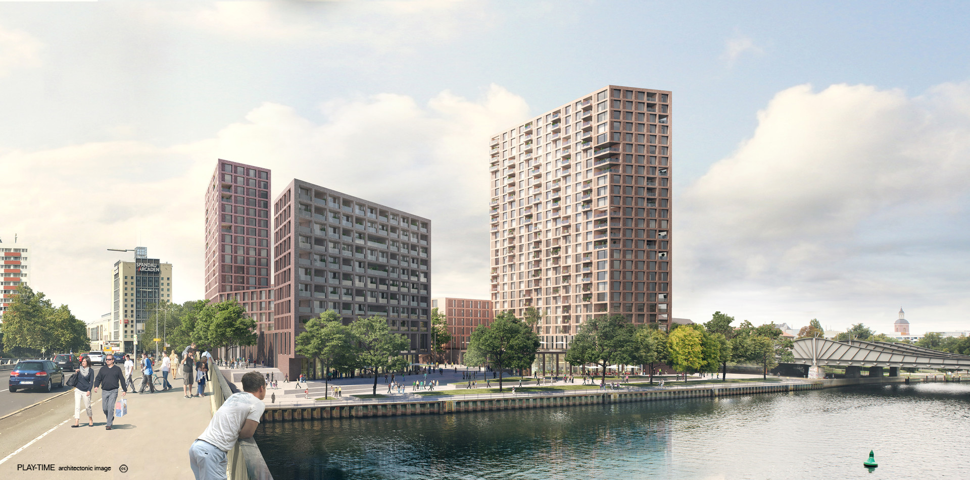 Play time architectonic image astoc arhitects and planners spandauer ufer berlin 1st prize 02