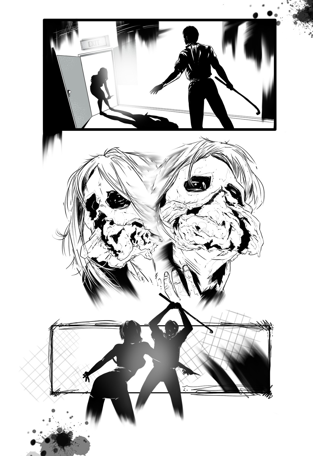 Silent hill Downpour Secuential page