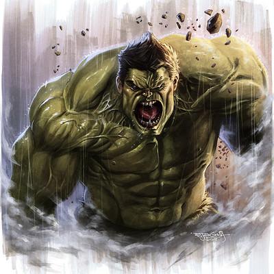 Sam delatorre ss as hulk