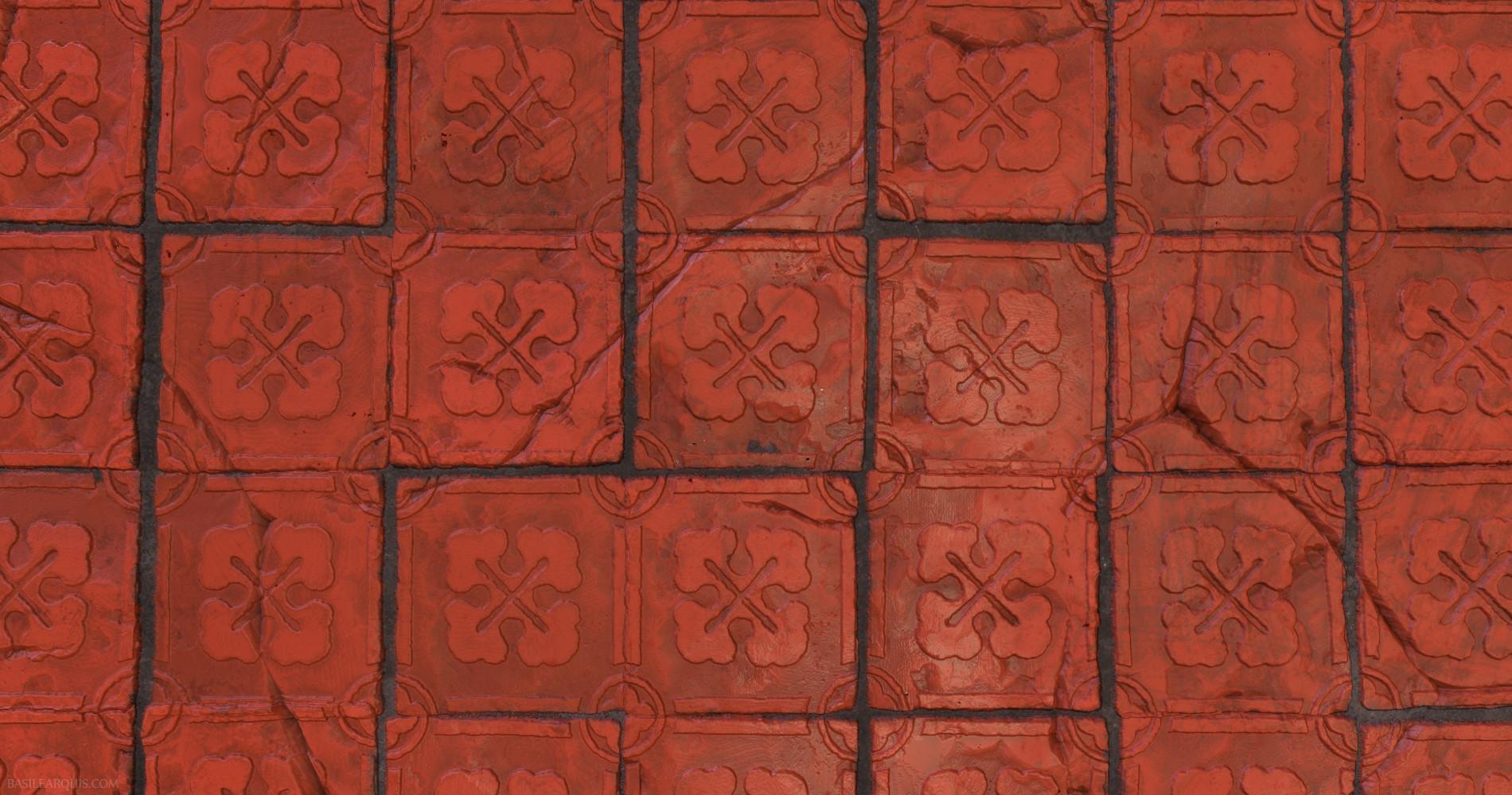 Basile arquis medieval tiles basile arquis 03