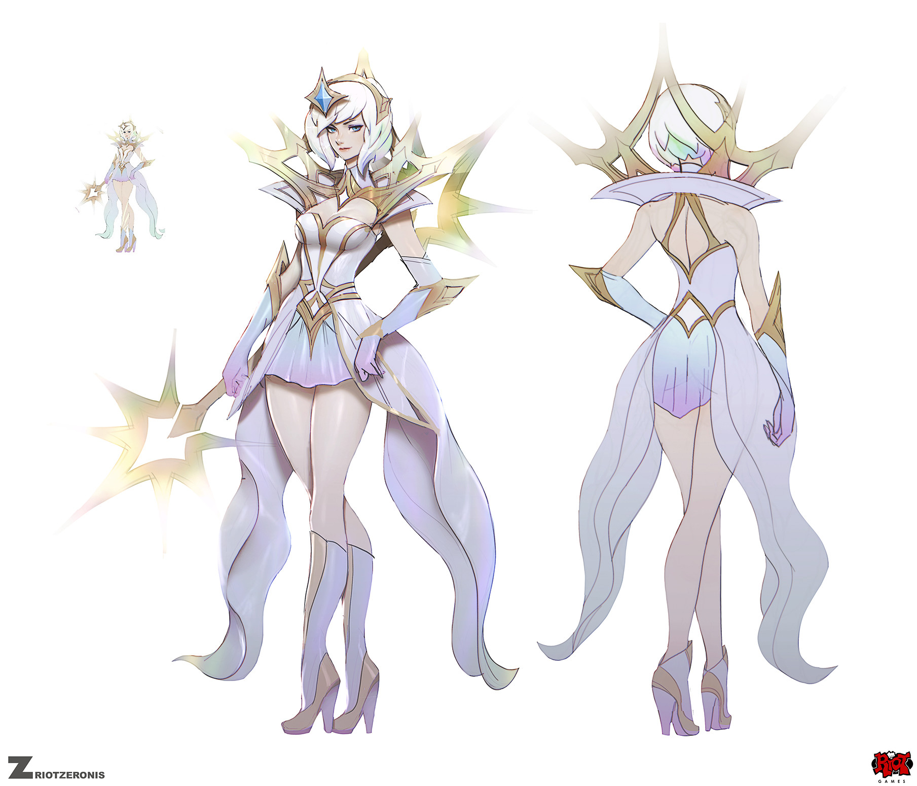 Artstation Elementalist Lux Light Zeronis
